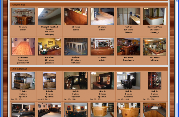 Sample from our Builder's Gallery