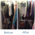 Wardrobe Makeover-Before and After